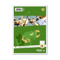 Bild Ringbucheinlage - LIN8, A5, 50 Blatt, 70 g/qm, rautiert