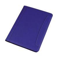 Bild Schreibmappe MESSINA - A4, Lederimitat, blau