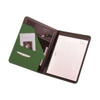 Bild Schreibmappe MESSINA - A4, Lederimitat, grün