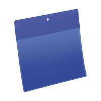 Bild Kennzeichnungstasche - magnetisch, A5 quer, PP, dokumentenecht, dunkelblau, 10 Stück