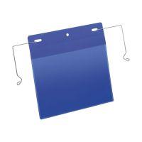 Bild Kennzeichnungstasche mit Drahtbügel - A5 quer, 50 Stück