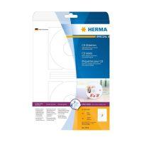 Bild 5079 CD-Etiketten A4 weiß Ø 116 mm Papier matt blickdicht 50 St.