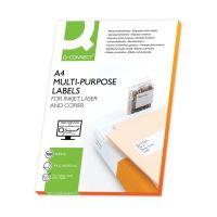 Bild Inkjet+Laser+Kopier-Etiketten - 210,0x297,0 mm, weiß, 100 Stück/100