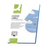 Bild CD-Etiketten - Classic Size, weiß, 50 Stück/25