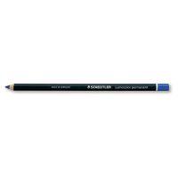 Bild Lumocolor® permanent glasochrom Trockenmarker, blau