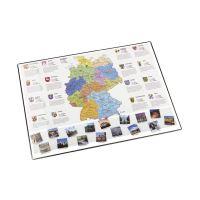 Bild Landkarten-Schreibunterlage - 53 x 40 cm, DEUTSCHLANDKARTE