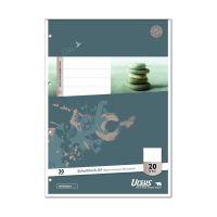 Bild Schulblock LIN20 A4 50 Blatt 70g/qm blanko