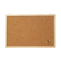 Bild Korktafel Memoboard, 40 x 30 cm, braun