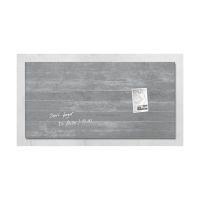 Bild Glas-Magnetboard artverum®, Design Sichtbeton, 91 x 46 cm