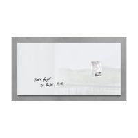Bild Glas-Magnetboard artverum®, weiß, 91 x 46 cm