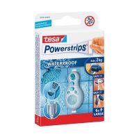 Bild Powerstrips® Waterproof - ablösbar, Tragfähigkeit 2 kg, weiß