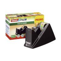 Bild Tischabroller ecoLogo®, gefüllt - inklusive 1 Rolle Eco & Clear, schwarz