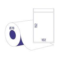 Bild Thermoetikettrollen - 102 x 152 mm, permanent haftend, 1 Rolle =  750 Stück