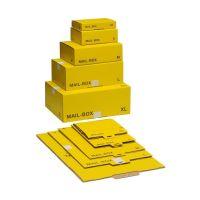 Bild Post-Versandkarton Größe S - gelb