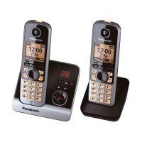Bild Telefon KX-TG6722G schnurlos titan/schwarz