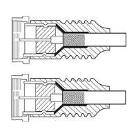 Bild SAT Antennenkabel (<70 dB), 2x geschirmt