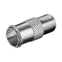 Bild F-Adapter: F-Stecker (Quick) > F-Buchse