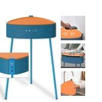 Bild Drahtloser Lautsprecher Mesu im Tisch Design blau