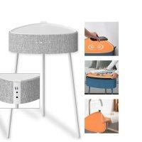 Bild Drahtloser Lautsprecher Mesu im Tisch Design weiss