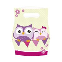 Bild Partytüte Happy Owl - 8 Stück