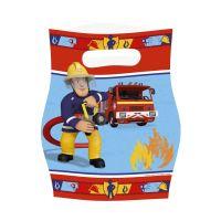 Bild Partytüte Fireman Sam - 8 Stück