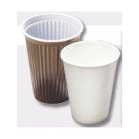 Bild Einweg-Geschirr - Pappe, Trinkbecher, 0,2 l, weiß, 100 Stück