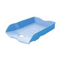 Bild Briefablage LOOP - DIN A4/C4, stapelbar, nestbar, stabil, Trend Colour hellblau