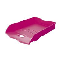 Bild Briefablage LOOP - DIN A4/C4, stapelbar, nestbar, stabil, Trend Colour pink