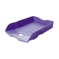Bild Briefablage LOOP - DIN A4/C4, stapelbar, nestbar, stabil, Trend Colour lila