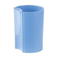 Bild Stifteköcher LOOP - modernes Design, verkettbar, Trend Colour hellblau