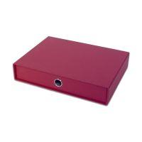 Bild Schubladenbox SOHO - einzel Schublade für A4, rot