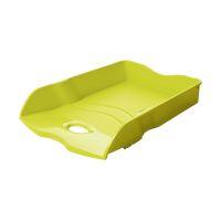 Bild Briefablage LOOP - DIN A4/C4, stapelbar, nestbar, stabil, Trend Colour lemon