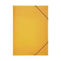 Bild Gummizugmappe Lucy Basic - A4, gelb, PP, 3 Einschlagklappen
