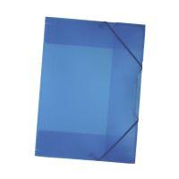 Bild Sammelmappe mit Gummiband, DIN A3, transparent, blau