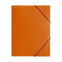 Bild Gummizugmappe Lucy Colours - A4, PP, orange  transluzent