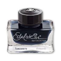 Bild Edelstein® Ink - 50 ml Glasflacon, tanzanite (blau-schwarz)