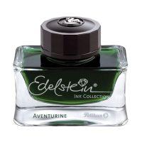 Bild Edelstein® Ink - 50 ml Glasflacon, aventurine (grün)