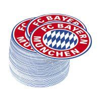 Bild Bierdeckel FC Bayern Emblem - 50 Stück