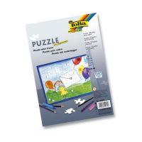 Bild Puzzle - 35tlg., A4, blanko, weiß
