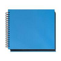 Bild Foto-Gästebuch VELOCOLOR® - Karton glanzkaschiert, 28,5 x 24 cm, blau