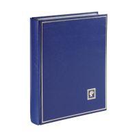 Bild Briefmarkenalbum - A4, 60 Seiten, blau