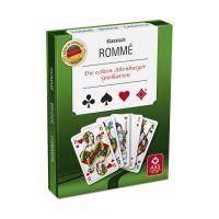 Bild Spielkarten Rommé-Canasta-Bridge (in Stülpschachtel)