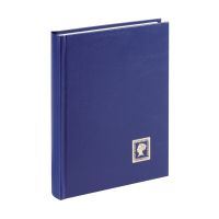 Bild Briefmarkenalbum - A5, 32 Seiten, blau