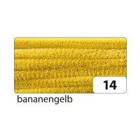 Bild Chenilledraht - 8 mm, 10 Stück, bananengelb