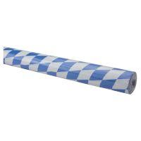 Bild Tischtuchpapier-Rolle - Damast, 1,00 m x 10 m, Raute, blau-weiß