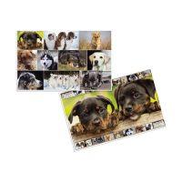 Bild Schreibunterlage Hunde - 55 x 35 cm