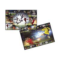 Bild Schreibunterlage Fußball - 55 x 35 cm