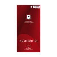 Bild Briefumschlag Meisterbütten - DIN lang, gefüttert, 80 g/qm, 25 Stück
