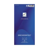 Bild Briefumschlag DresdenPost - DIN lang, gefüttert, 80 g/qm, 25 Stück
