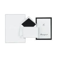 Bild Briefpapiermappe Trauerpost - 5 Kuverts / 5 Briefbögen A4